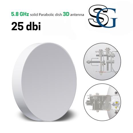 Dish 25 Dbi