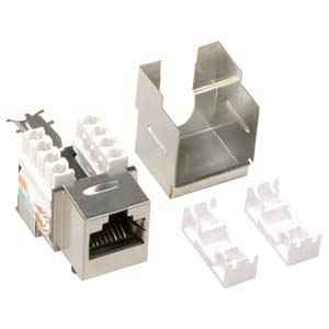 Cat.6 RJ45 Shielded Keystone Jack