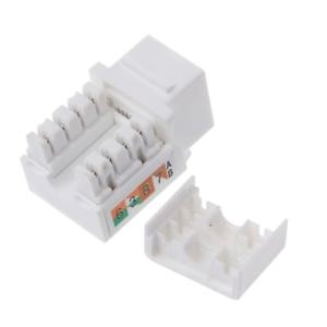 CAT6 RJ45 Keystone Jack Female