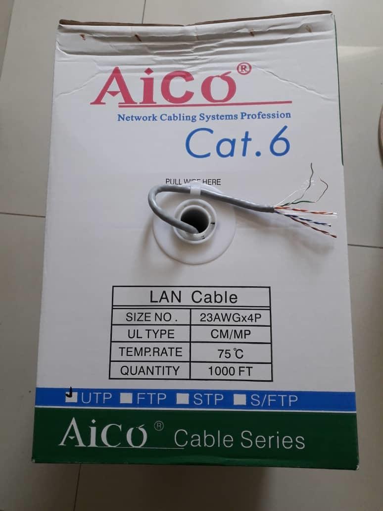 Aico Cat 6 Utp Cable